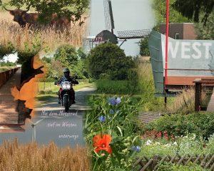 Mit dem Motorrad unterwegs (Bild 1)
